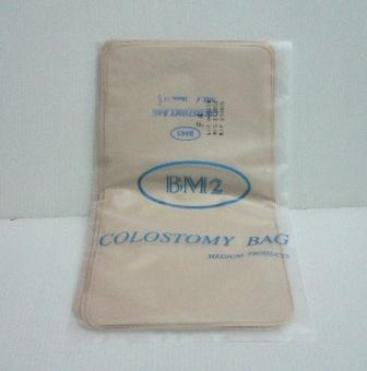 how to change a colostomy bag