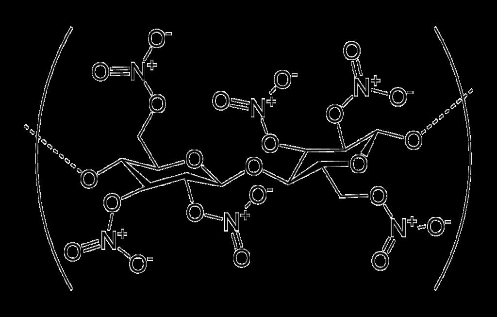 Nitrocellulose-2D-skeletal